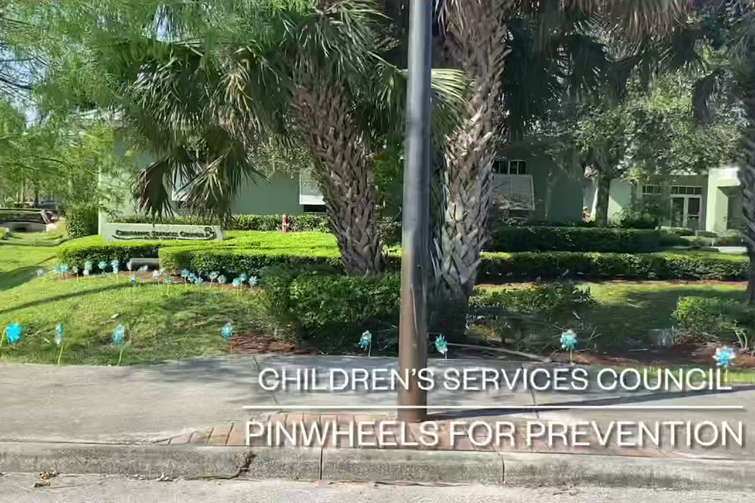CSCMC Supports Pinwheels for Prevention