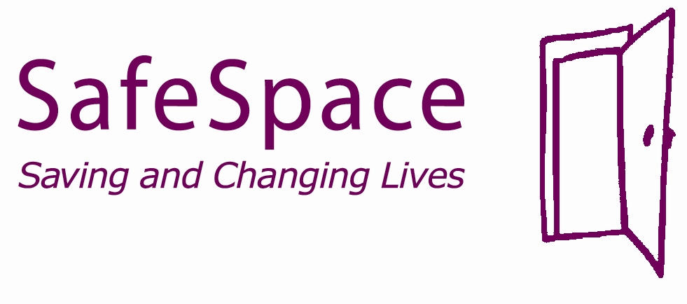 Safe Space Saving and Changing Lives logo