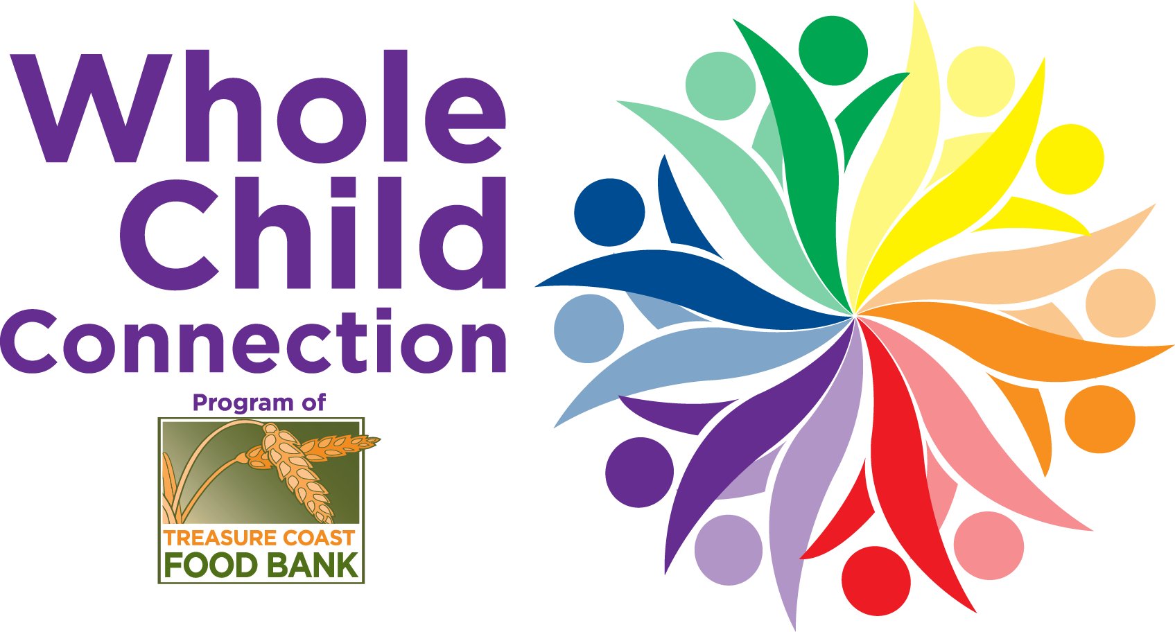Whole Child Connection Treasure Coast Foodbank Logo