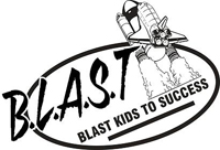 BLAST Banner Lake After School Time Logo