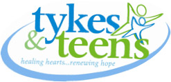 Tykes & Teens Healing Hearts and Renewing Hope Logo
