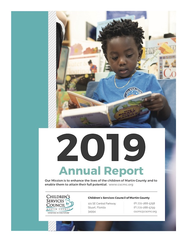 Front Page of 2019 Annual Report
