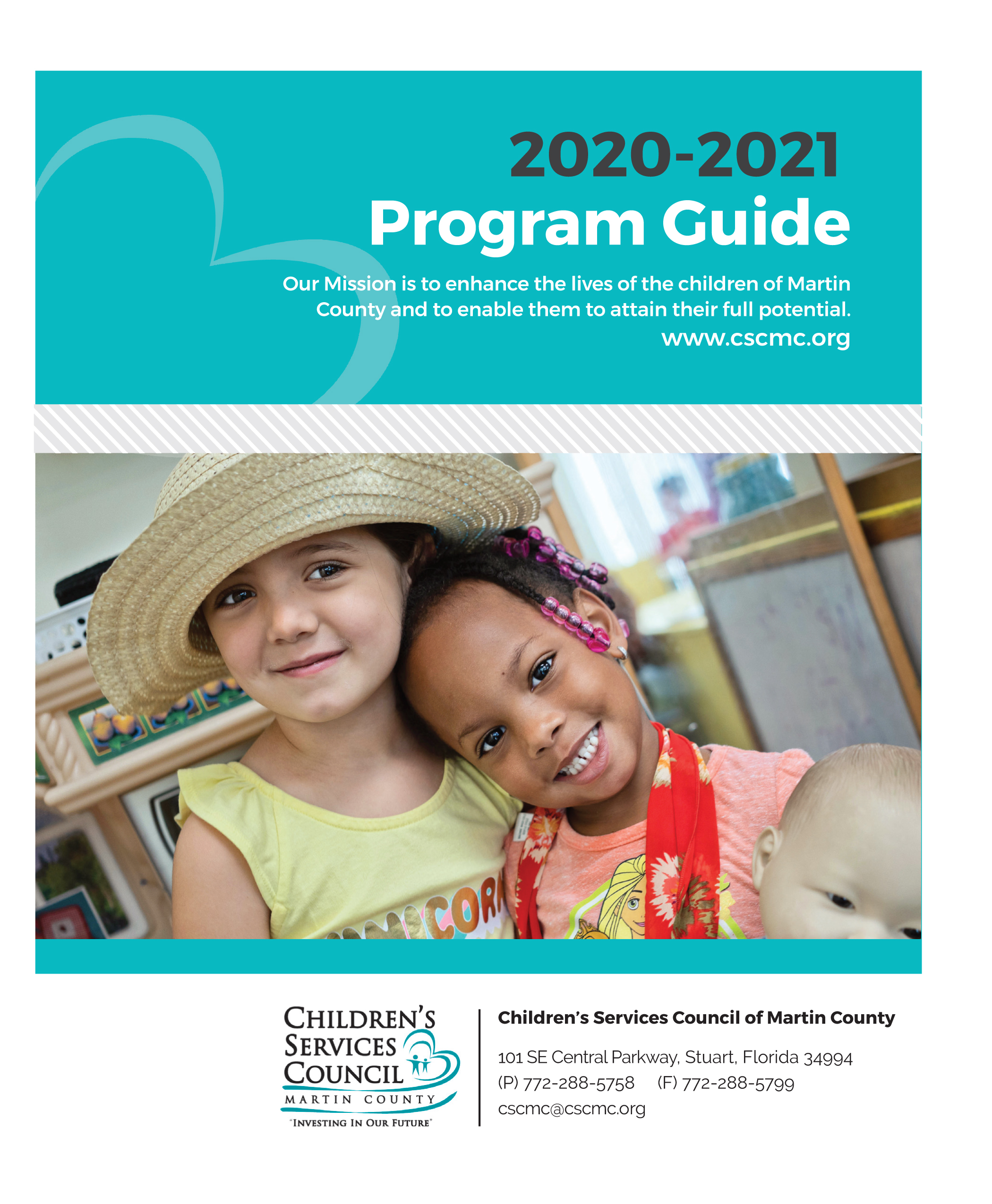 Program Guide Front Page
