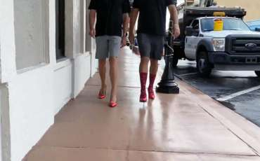 Walk a Mile in Her Shoes: SafeSpace Challenge