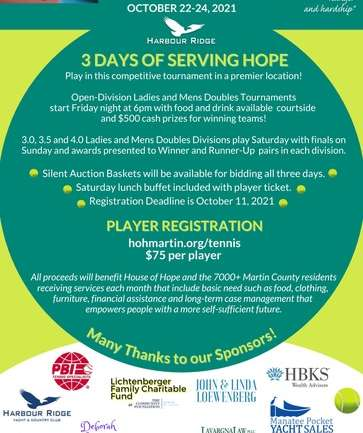 Hope Charity Tennis Tournament